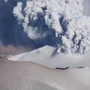 Ol Doinyo Lengai erupting