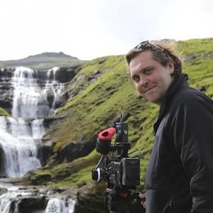 On location in the Faroe Islands