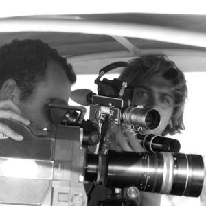 Leander and Craig filming in Ambroseli in 1994