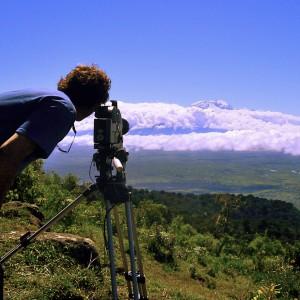 Mount Kiimanjaro from Mount Meru, Tanzania