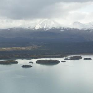 Katmai mountains